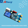200W Ceiling Mounted Microwave Movement Sensor For Light