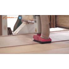Design de porta de madeira da varanda design de portas de madeira PVC de alibaba china