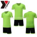 El jersey de fútbol de YONO OEM 100% ployester fija la técnica tailandesa de la sublimación del jersey del tren del fútbol de la cantidad