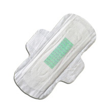 Bamboo fiber biggest maxi pads with wings unscented