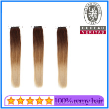 Factory Price Prodcuts Wholesale Vendor 8-30inch Gradient Color Knot Thread Hair Extensions Remy Hair Virgin Hair Human Hair
