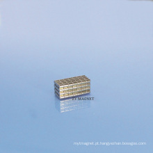 Ímã permanente Ts16949 do neodímio pequeno de NdFeB do disco da alta qualidade