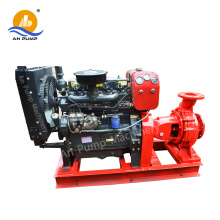 Leistungsstarke Zentrifugalhorizontale Traktor-angetriebene Diesel-große Wasser-Pumpe