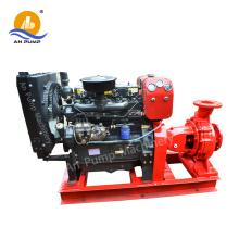 Pompe à eau diesel diesel puissante actionnée par tracteur horizontal puissant