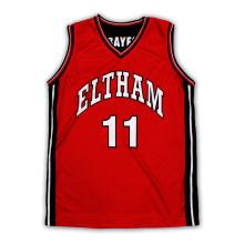 2015 Новая Красная Баскетбольная Униформа
