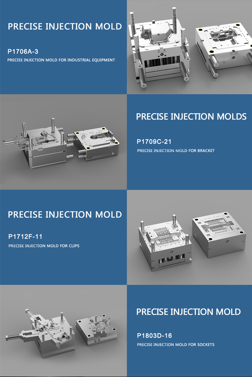 plastic injection container mold