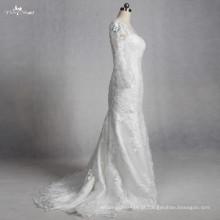 TW0192 luva longa veja o vestido de remoção de sereia da sereia