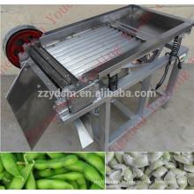 Machine d'épluchage automatique de fève d'acier inoxydable / haricot vert