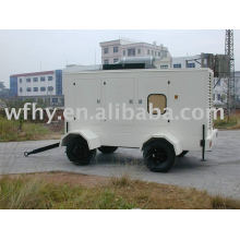 Movable Generator Station for outdoor