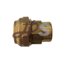 brass compression couplings for PE pipe