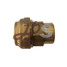 acoplamentos de compressão de latão para tubo PE