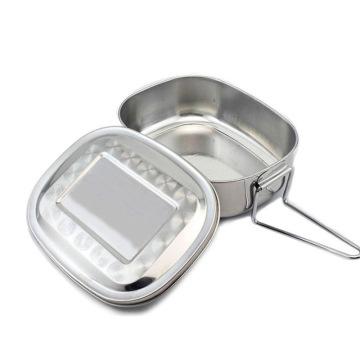 Vorratsbehälter für Lebensmittel / Bento-Lunchbox aus Edelstahl