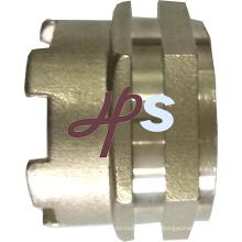 Inserción de latón para accesorios PPR, inserción de latón PPR