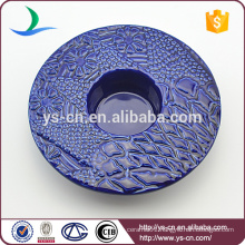 Modern Design Decoration Round Ceramic Candle Holder