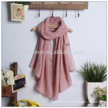 Высококачественный полиэфирный хиджаб-шаль