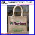 Eco-Friendly Logo Kundenspezifische Werbe-Jute-Tasche (EP-B581706)