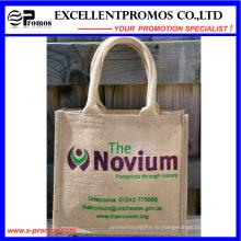 Eco-Friendly логотип Индивидуальные рекламные джута сумка (EP-B581706)