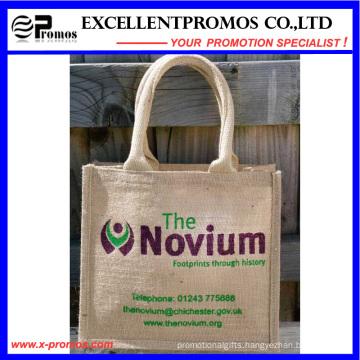 Eco-Friendly Logo Customized Promotional Jute Bag (EP-B581706)