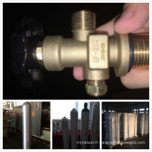 Cylindre de gaz en aluminium de haute qualité 40L