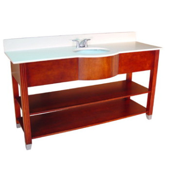 Hotel Wooden Bathroom Vanity (B-53)