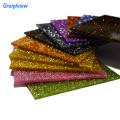 Acrylic glitter board for home/ bar decoration