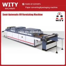 Machine semi-automatique de vernissage de papier (COST-EFFECTIVE)