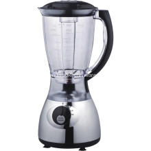 1.5L en plastique jar blender couleur chrome