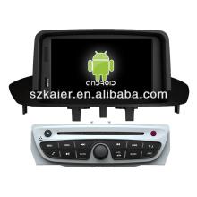 leitor de dvd do carro para o sistema Android 2014 Renault Megane