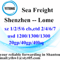 Shenzhen Sea Freight Shipping Services nach Lome