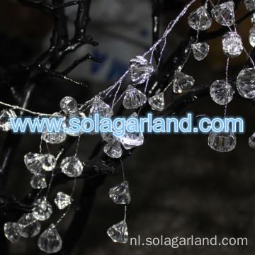 Acryl Diamond Crystal parel Garland bruiloft decoratie
