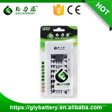 Geilienergy GLE-808 ni-cd ni-aa AA AAA 8 Slot Carregador de Bateria Automático