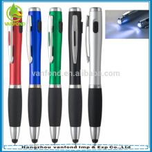 Lujo 3 en 1 pluma de la antorcha con lápiz para tablets