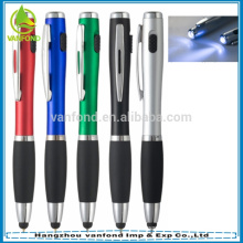 Fancy 3 in 1 torch pen with stylus for tablets