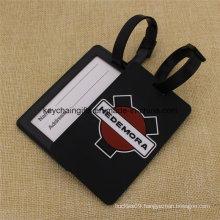 Promotion Costom Logo Standard Size PVC Baggage Tag