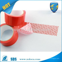 Brand factory online shopping acrylic tamper sealing tape custom printed duct tape for emballage carton box