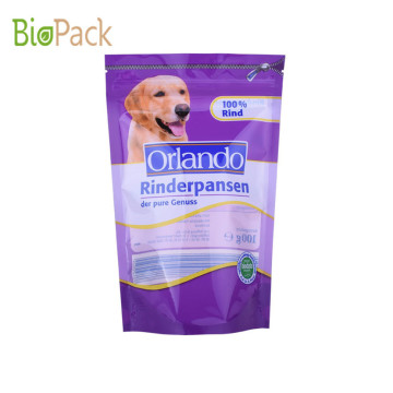 Side Gusset Top Pet Packaging Food Bag 5 ~ 10kg