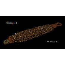 bracelet de perles d'amitié doux au crochet