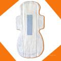 Serviettes hygiéniques de coton de fibre de bambou d'absorption superbe avec l'ion négatif