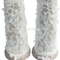 2017 neue Stil schöne modische fingerlose Hochzeit Spitze Braut Handschuhe