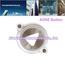 Совершенно новые кнопки KONE для подъема лифта Запасные части Нержавеющая сталь Push Call Button