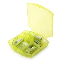Mini set de papeterie de bureau avec boîte en plastique