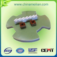 Componente procesado de fibra de vidrio del CNC