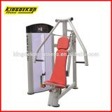 Chest press fitness machine