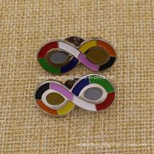 Значок из 10 цветов с синтетическим эмалевым покрытием