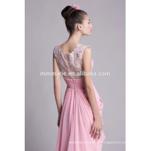 Love pink chiffon vestidos de festa de casamento para mulheres bonitas