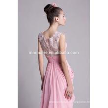 Любовь розовый шифон свадьба платья для красивых женщин
