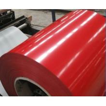 Verschiedene farbig vorlackierte Stahlspulen (SGCC)