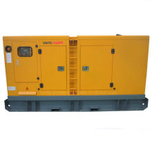 Sistema de generador diesel insonoro impermeable 60kw con el motor de Doosan (UDS60)