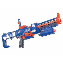 Brinquedo plástico da arma de B / O com luz laser de piscamento (h3599022)