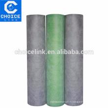 PP composite de sols de salle de bains membrane imperméable à l'eau pour douche
